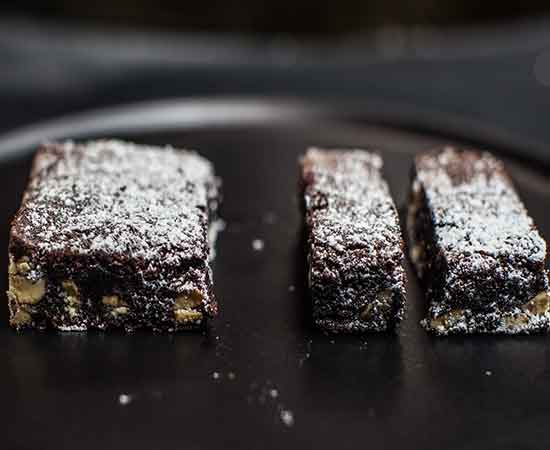 Snowdrop Brownies