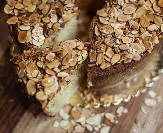Almond Polenta Pound Cake